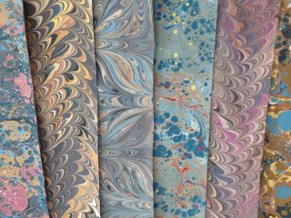Art of Marbling - Hand Marbled Paper