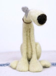 Needle Felting Workshop - Dog