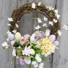 Spring / Easter Floral Wreath