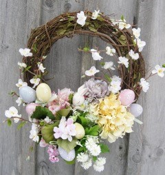 Spring / Easter Floral Wreath