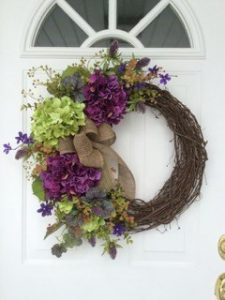 Spring Easter Floral Wreath 5