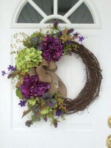 Spring Easter Floral Wreath 5