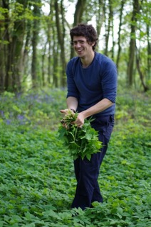 Foraging Week - James Wood Picking Elder